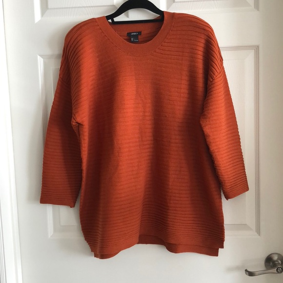 e266ee3d lindex Sweaters | Orange Sweater | Poshmark